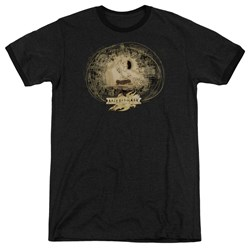 Mirrormask - Mens Sketch Ringer T-Shirt
