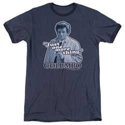 Columbo - Mens Just One More Thing Ringer T-Shirt