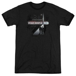 Warehouse 13 - Mens The Unknown Ringer T-Shirt