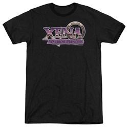 Xena - Mens Logo Ringer T-Shirt