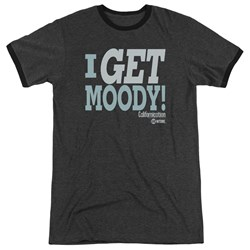 Californication - Mens I Get Moody Ringer T-Shirt