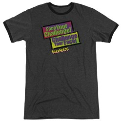 Warheads - Mens Face Your Challenge Ringer T-Shirt