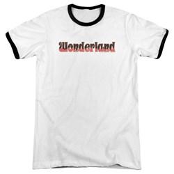 Zenescope - Mens Wonderland Logo Ringer T-Shirt
