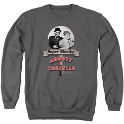 Abbott & Costello - Mens Super Sleuths Sweater