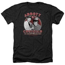 Abbott & Costello - Mens Bad Boy Heather T-Shirt