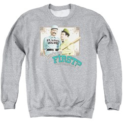 Abbott & Costello - Mens Who'S On First Sweater