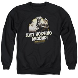 Abbott & Costello - Mens Horsing Around Sweater