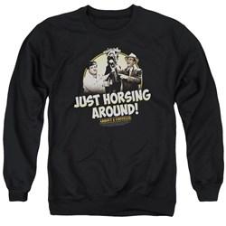 Abbott & Costello - Mens Horsing Around Sweater