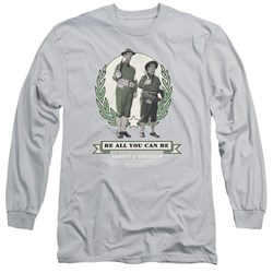 Abbott & Costello - Mens Be All You Can Be Long Sleeve T-Shirt
