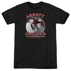 Abbott & Costello - Mens Bad Boy Ringer T-Shirt