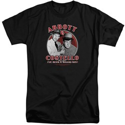 Abbott & Costello - Mens Bad Boy Tall T-Shirt