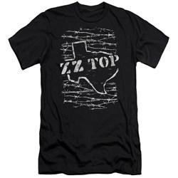 Zz Top - Mens Barbed Premium Slim Fit T-Shirt