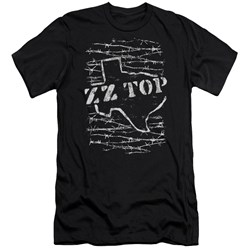 Zz Top - Mens Barbed Slim Fit T-Shirt