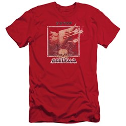 Zz Top - Mens Deguello Cover Slim Fit T-Shirt