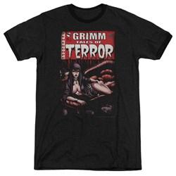 Zenescope - Mens Terror Cover Ringer T-Shirt