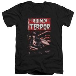 Zenoscope - Mens Terror Cover V-Neck T-Shirt