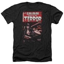 Zenoscope - Mens Terror Cover Heather T-Shirt