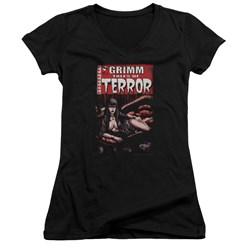 Zenoscope - Juniors Terror Cover V-Neck T-Shirt