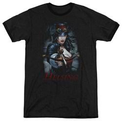 Zenescope - Mens Helsing Ringer T-Shirt