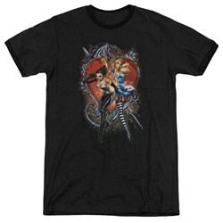 Zenescope - Mens Heart Ringer T-Shirt