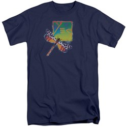 Yes - Mens Dragonfly Tall T-Shirt