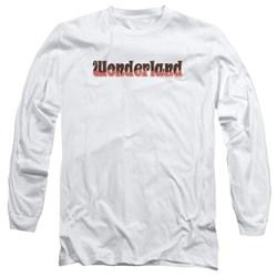 Zenoscope - Mens Wonderland Logo Long Sleeve T-Shirt