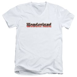 Zenoscope - Mens Wonderland Logo V-Neck T-Shirt