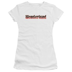 Zenoscope - Juniors Wonderland Logo T-Shirt