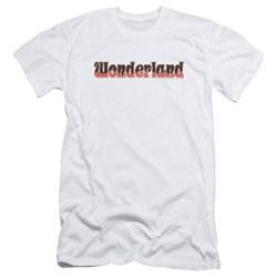 Zenoscope - Mens Wonderland Logo Slim Fit T-Shirt