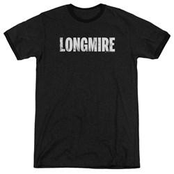 Longmire - Mens Logo Ringer T-Shirt
