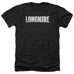 Longmire - Mens Logo Heather T-Shirt