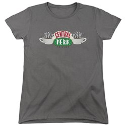 Friends - Womens Central Perk Logo T-Shirt