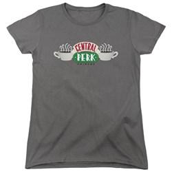 Friends - Womens Central Perk Logo T-Shirt