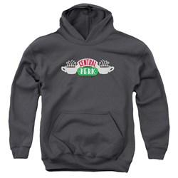 Friends - Youth Central Perk Logo Pullover Hoodie