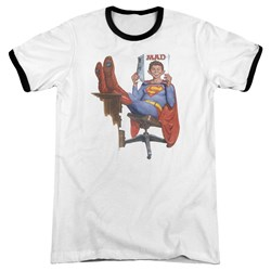 Mad - Mens Super Read Ringer T-Shirt