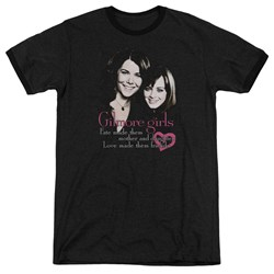 Gilmore Girls - Mens Title Ringer T-Shirt