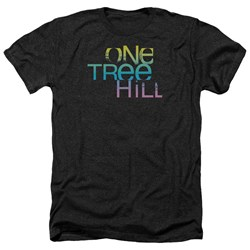One Tree Hill - Mens Color Blend Logo Heather T-Shirt