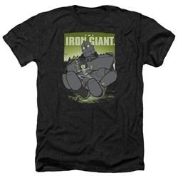 Iron Giant - Mens Helping Hand Heather T-Shirt