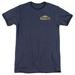 Polar Express - Mens Conductor Ringer T-Shirt
