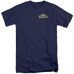 Polar Express - Mens Conductor Tall T-Shirt