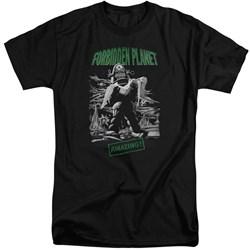 Forbidden Planet - Mens Robot Poster Tall T-Shirt