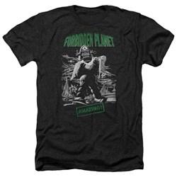 Forbidden Planet - Mens Robot Poster Heather T-Shirt