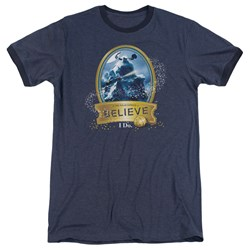 Polar Express - Mens True Believer Ringer T-Shirt