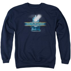 Polar Express - Mens Train Logo Sweater
