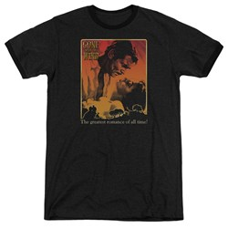Gone With The Wind - Mens Greatest Romance Ringer T-Shirt