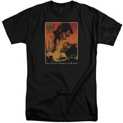 Gone With The Wind - Mens Greatest Romance Tall T-Shirt