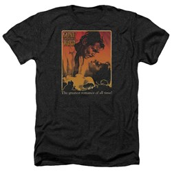 Gone With The Wind - Mens Greatest Romance Heather T-Shirt