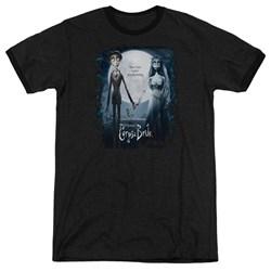 Corpse Bride - Mens Poster Ringer T-Shirt