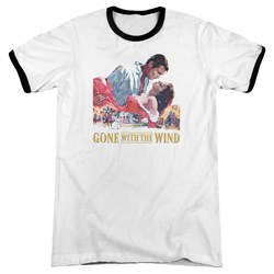Gwtw - Mens On Fire Ringer T-Shirt