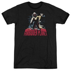 Forbidden Planet - Mens Robby And Woman Ringer T-Shirt